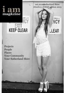 I AM XMAS EDITION 12.1 2013 COVER GRAPHIC