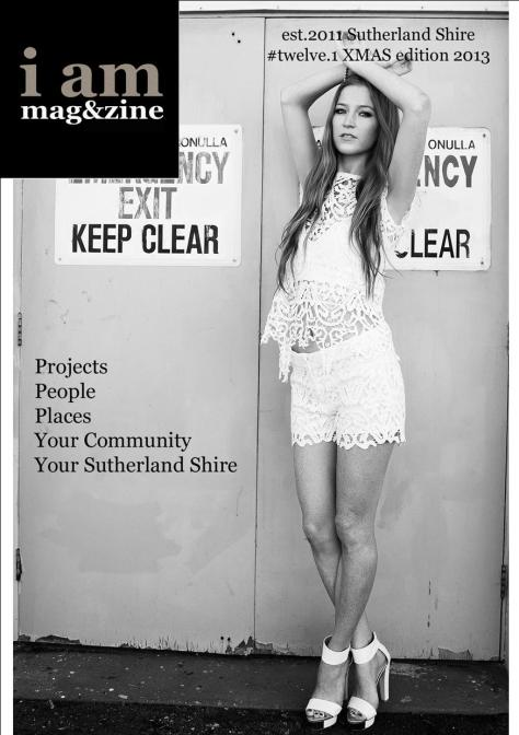 I AM MAGAZINE issue 12.1 Xmas Edition 2013 - IS LIVE!!!!!!!!!!!!!!!!